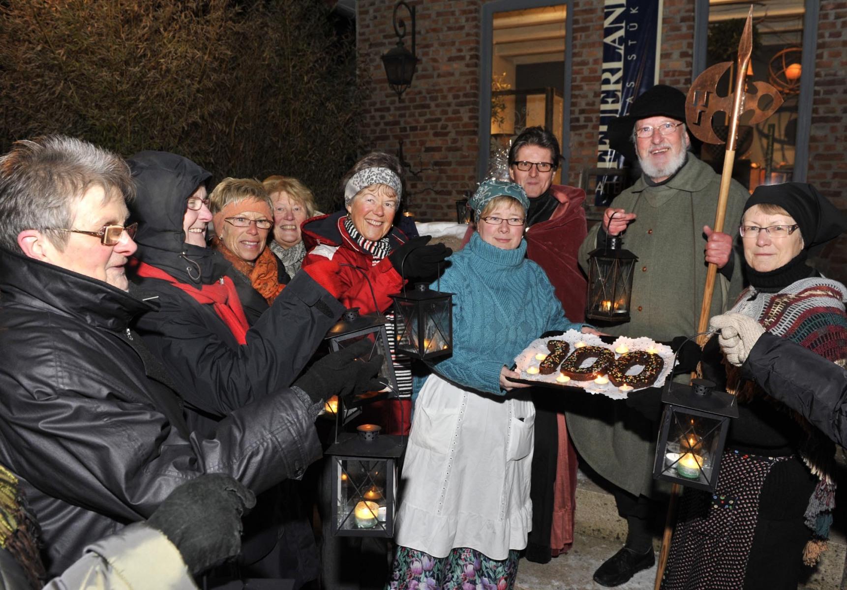 Schledehausen, 100ste Nachtwächter Führung