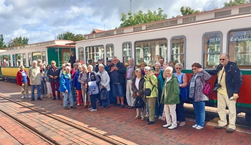 Tagesfahrt des HVV Schledehausen nach Borkum. 44 Teilnehmer